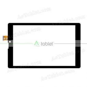 HK80DR2853 Digitizer Glass Touch Screen Replacement for 8 Inch MID Tablet PC