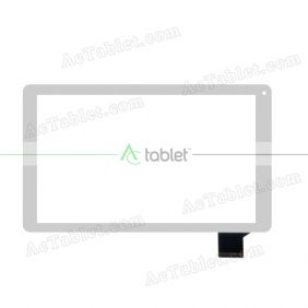 C145255A1-DRFPC307T-V2.0 Digitizer Glass Touch Screen Replacement for 10.1 Inch MID Tablet PC