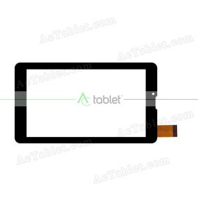 101-070B-1318A Digitizer Glass Touch Screen Replacement for 7 Inch MID Tablet PC