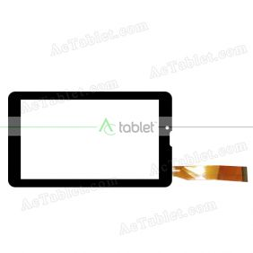xld fhx Digitizer Glass Touch Screen Replacement for 7 Inch MID Tablet PC