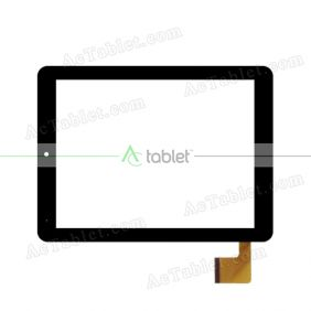 04-0800-0157A Digitizer Glass Touch Screen Replacement for 8 Inch MID Tablet PC