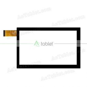 UP070258A1-V01 Digitizer Glass Touch Screen Replacement for 7 Inch MID Tablet PC