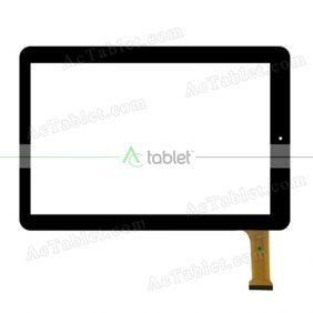 P031FN10938A FPC VER.00 Digitizer Glass Touch Screen Replacement for 10.1 Inch MID Tablet PC
