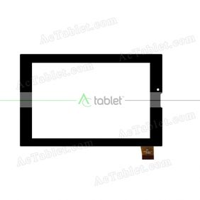 JJT129FPC V1.0 Digitizer Glass Touch Screen Replacement for 7 Inch MID Tablet PC