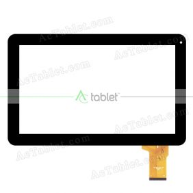 fhf10010 Digitizer Glass Touch Screen Replacement for 10.1 Inch MID Tablet PC