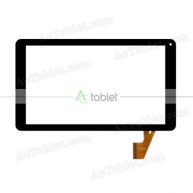 CN088FPC-V2 Digitizer Glass Touch Screen Replacement for 10.1 Inch MID Tablet PC