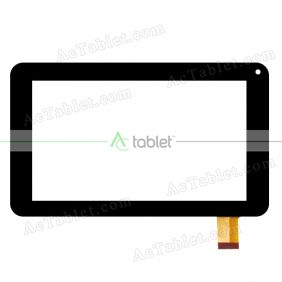 F1B151A Digitizer Glass Touch Screen Replacement for 7 Inch MID Tablet PC