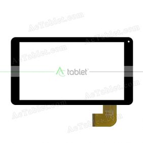 DH-0920A5-FPC203 Digitizer Glass Touch Screen Replacement for 9 Inch MID Tablet PC
