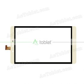 PB80GF2-3162 Digitizer Glass Touch Screen Replacement for 8 Inch MID Tablet PC