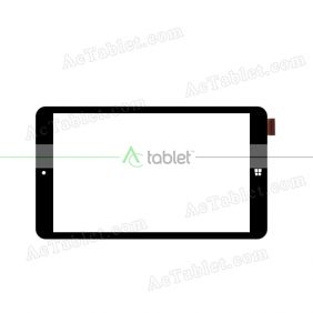 SG8099-FPC Digitizer Glass Touch Screen Replacement for 8 Inch MID Tablet PC