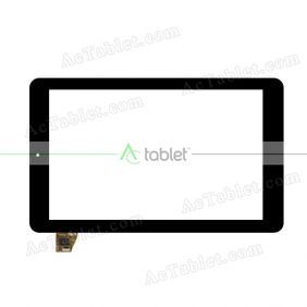 SG5646A-FPC-V2 Digitizer Glass Touch Screen Replacement for 10.1 Inch MID Tablet PC