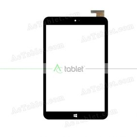 CN078-FPC-V0 Digitizer Glass Touch Screen Replacement for 8 Inch MID Tablet PC