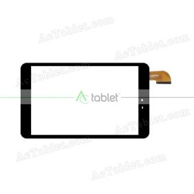 SG8203-FPC_V1-2 Digitizer Glass Touch Screen Replacement for 8 Inch MID Tablet PC