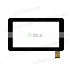 FPC-CY70S201(782)-02 Digitizer Glass Touch Screen Replacement for 7 Inch MID Tablet PC