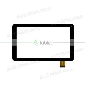 DH-1072A1-PG-FPC234 Digitizer Glass Touch Screen Replacement for 10.1 Inch MID Tablet PC
