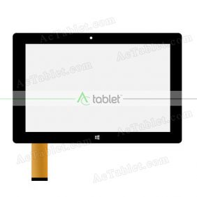 Digitizer Touch Screen Replacement for Fusion5 FWIN232 Ultra Slim Windows 10 Inch Tablet PC