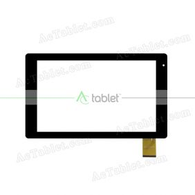 HXD-1076-V4.0 V2.0 V5.0 Digitizer Glass Touch Screen Replacement for 10.1 Inch MID Tablet PC