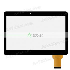 Digitizer Glass Touch Screen Replacement for XGODY D101 3G MT6572 Dual Core 10.1 Inch Tablet PC