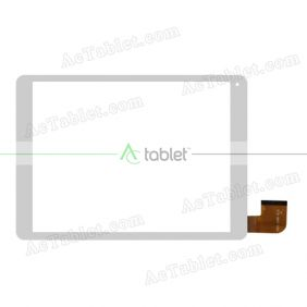 HXD-1098-V3.0 Digitizer Glass Touch Screen Replacement for 9.7 Inch MID Tablet PC