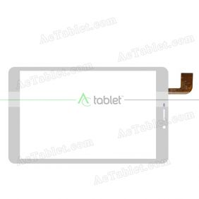 HSCTP-746B(W801)-8-V0 Digitizer Glass Touch Screen Replacement for 8 Inch MID Tablet PC