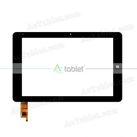 HSCTP-769B(C189)-10.8-GSL3680-V1-FPC Digitizer Glass Touch Screen Replacement for 10.8 Inch MID Tablet PC