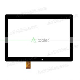 HSCTP-823-10.1-V1 Digitizer Glass Touch Screen Replacement for 10.1 Inch MID Tablet PC