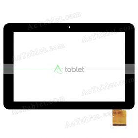 Digitizer Glass Touch Screen Replacement for 3Q RC1025F 10.1 Inch Quad Core Tablet PC
