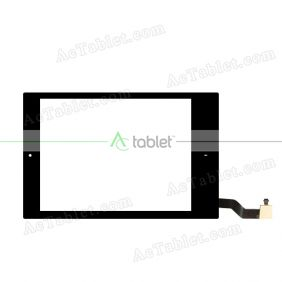 FPC079-0973AT Digitizer Glass Touch Screen Replacement for 7.9 Inch MID Tablet PC