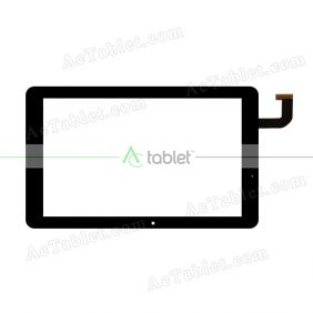FPC089-1083AT Digitizer Glass Touch Screen Replacement for 8.9 Inch MID Tablet PC