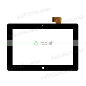 FPC101-0966DT Digitizer Glass Touch Screen Replacement for 10.1 Inch MID Tablet PC