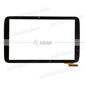 FPC101-0855AT Digitizer Glass Touch Screen Replacement for 10.1 Inch MID Tablet PC