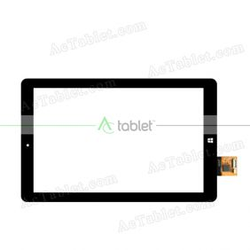 FPC101-0757E Digitizer Glass Touch Screen Replacement for 10.1 Inch MID Tablet PC