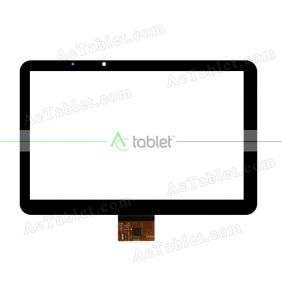 FPC101-0708A Digitizer Glass Touch Screen Replacement for 10.1 Inch MID Tablet PC