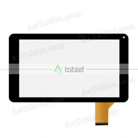 Replacement Touch Screen for eSTAR ZOOM HD MID9044 9 Inch QUAD CORE Tablet PC