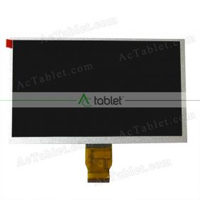LCD Display Screen Replacement for DENVER TAQ-90012 Quad Core 9 Inch Tablet PC