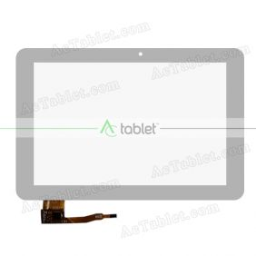 Digitizer Glass Touch Screen Replacement for KNC MD1006 RK3188 Quad Core 10.1 Inch Tablet PC