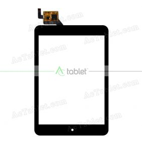 Digitizer Glass Touch Screen Replacement for Lenovo MIIX3-830 7.85 Inch Tablet PC