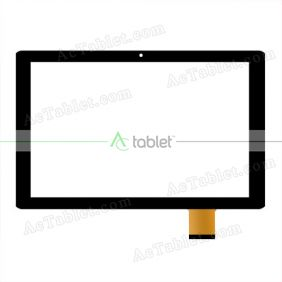Digitizer Touch Screen Replacement for Visual Land Prestige Prime 10SE 10 Inch Tablet PC