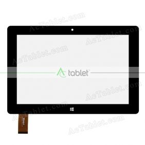 WJ829-FPC V1.0 Digitizer Glass Touch Screen Replacement for 10.1 Inch MID Tablet PC