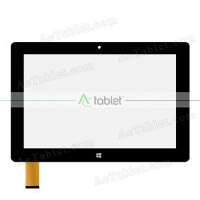 Digitizer Touch Screen Replacement for PROTAB PTBTWXUFK10BLK 10.1 Inch Windows Tablet PC