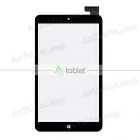 Digitizer Glass Touch Screen Replacement for DigiLand DL808W Z3735F Quad Core 8 Inch Tablet PC