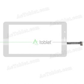 HOTATOUCH C186104F1-FPC786DR Digitizer Glass Touch Screen Replacement for 7 Inch MID Tablet PC