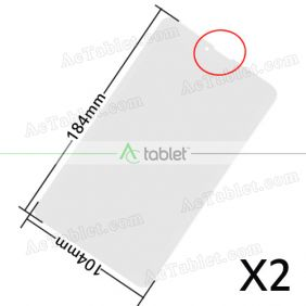 Universal 184x104mm Screen Protector Film for OEM ODM 7 Inch Android Phone Tablet PC