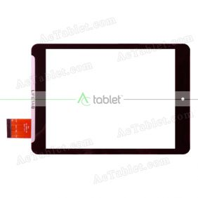 QSD 701-08064-04 Digitizer Glass Touch Screen Replacement for 8 Inch MID Tablet PC