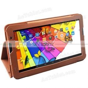 Leather Case Cover Stand for Polaroid MIDS145PXE52.112 10.6 Inch Tablet PC