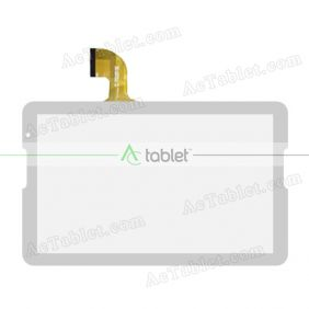 Digitizer Touch Screen Replacement for NPOLE N106-IPS 10.6 Inch Allwinner A33 Quad Core  Tablet PC