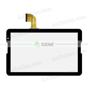 Digitizer Touch Screen Replacement for Storex eZee'Tab106Q10-M Quad Core 10.1 Inch Tablet PC