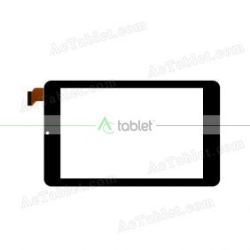 Digitizer Touch Screen Replacement for iRULU eXpro X4 Quad Core 7 Inch Tablet PC