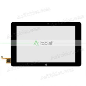 Digitizer Touch Screen Replacement for Cube iwork10 Ultimate i15t Dual Boot Z8300 Windows Tablet PC