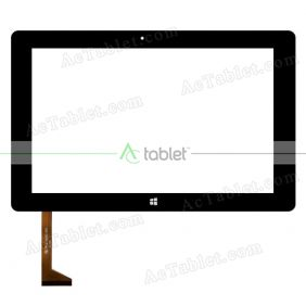 FPCA-10A02-V03 Digitizer Glass Touch Screen Replacement for 10.1 Inch MID Tablet PC